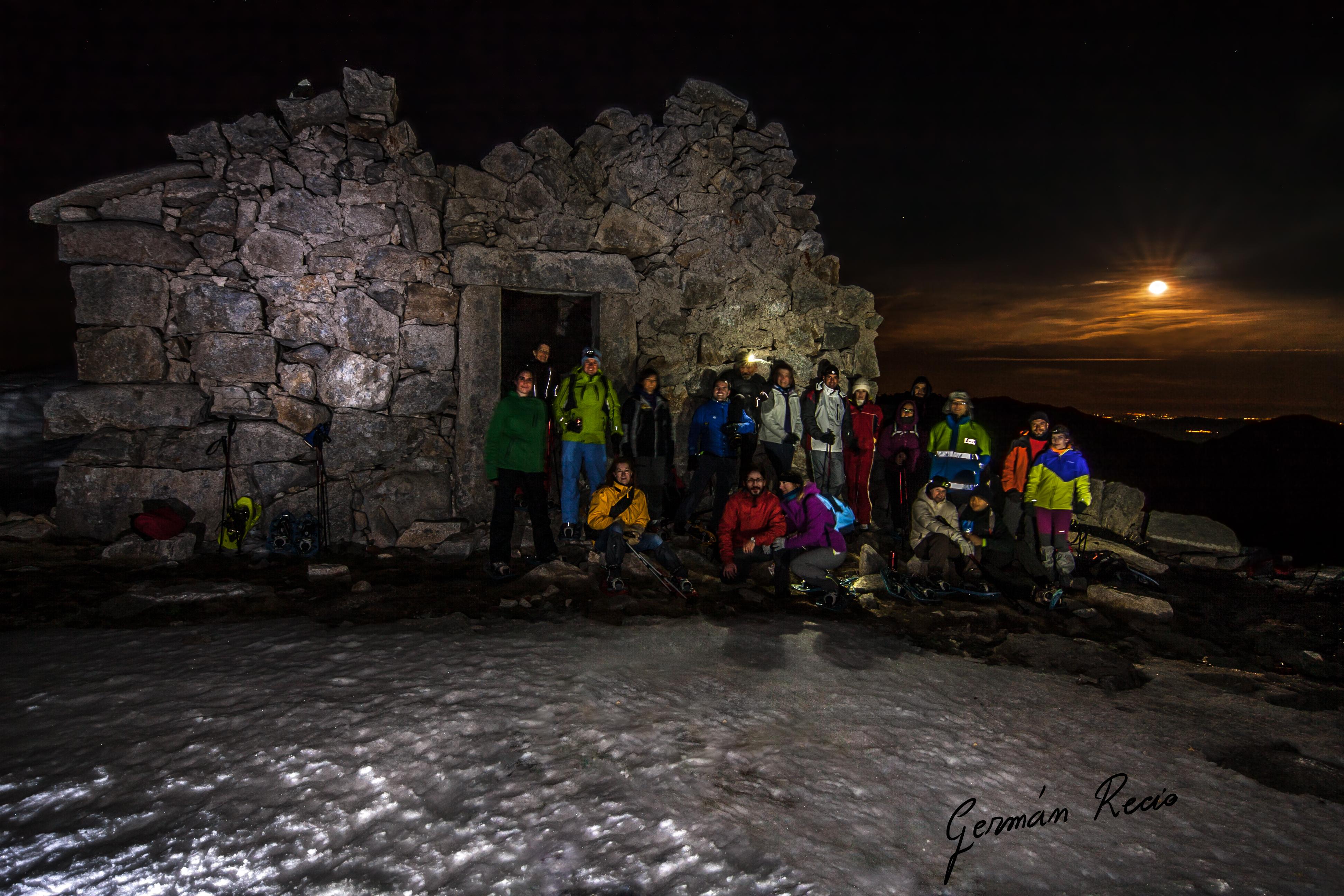 Raquetas de Nieve Ruta Nocturna